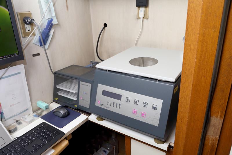 増殖因子分離装置『PRGF-Endoret』